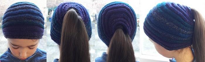 Bonnet queue de cheval madebyfiona 2