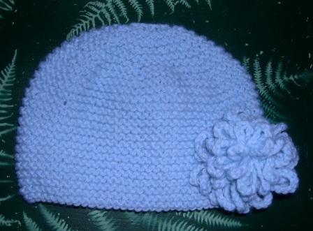Bonnet fleur 2