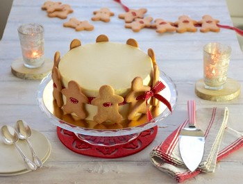 Gateau guirlande pain epices