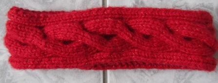 Head band rouge