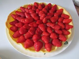 tarte aux fraises madebyfiona