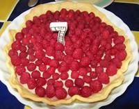 tarte aux framboises madebyfiona