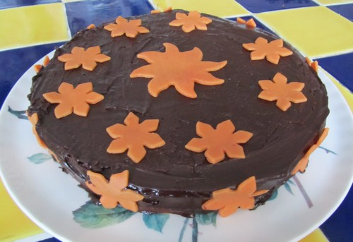Gâteau orange chocolat madebyfiona