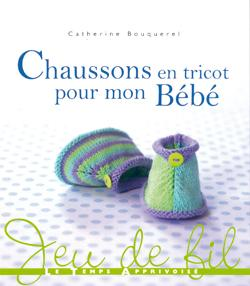 Livre chaussons tricot bebe