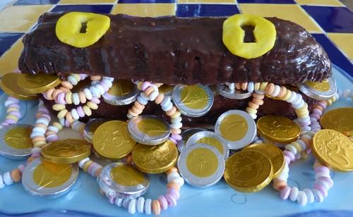 Anniversaire Fort Boyard 14 gâteau coffre trésor madebyfiona
