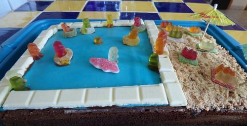 Gateau piscine madebyfiona 2