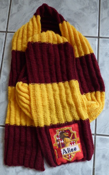 Echarpe Harry Potter Madebyfiona 2