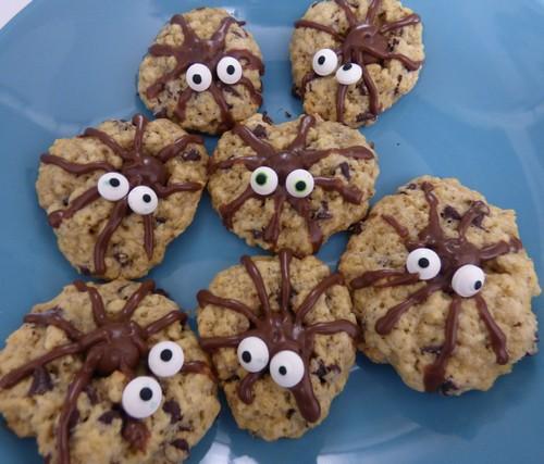 spider cookies madebyfiona