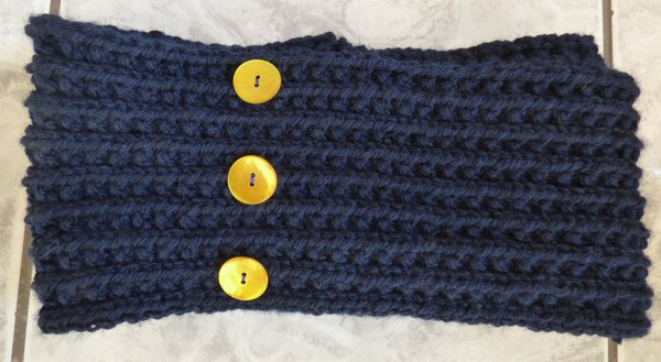 Snood double tour madebyfiona