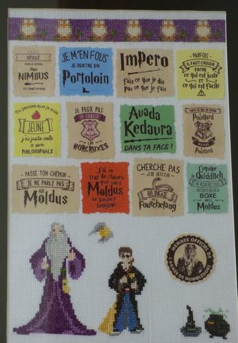Harry Potter au point de croix madebyfiona 6