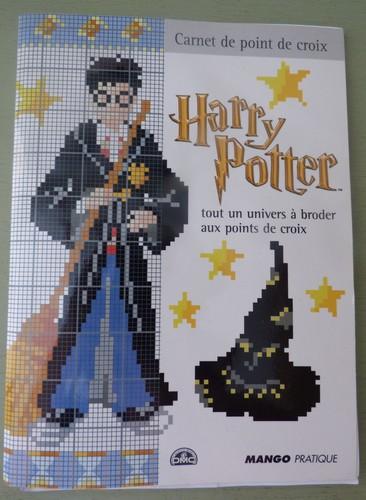 Harry Potter au point de croix madebyfiona 1