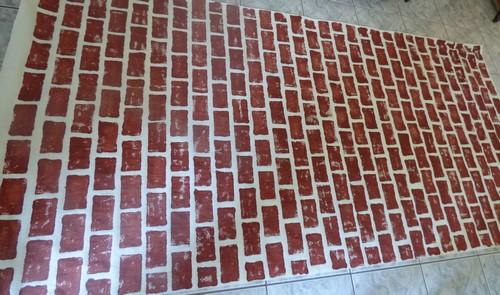 Mur en briques Harry Potter Madebyfiona 1