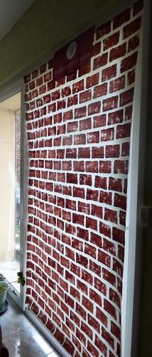 Mur en briques Harry Potter Madebyfiona 2