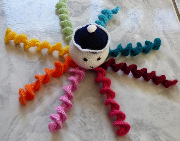 Pieuvre crochet madebyfiona 1